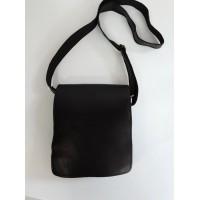 Men's leather business bag